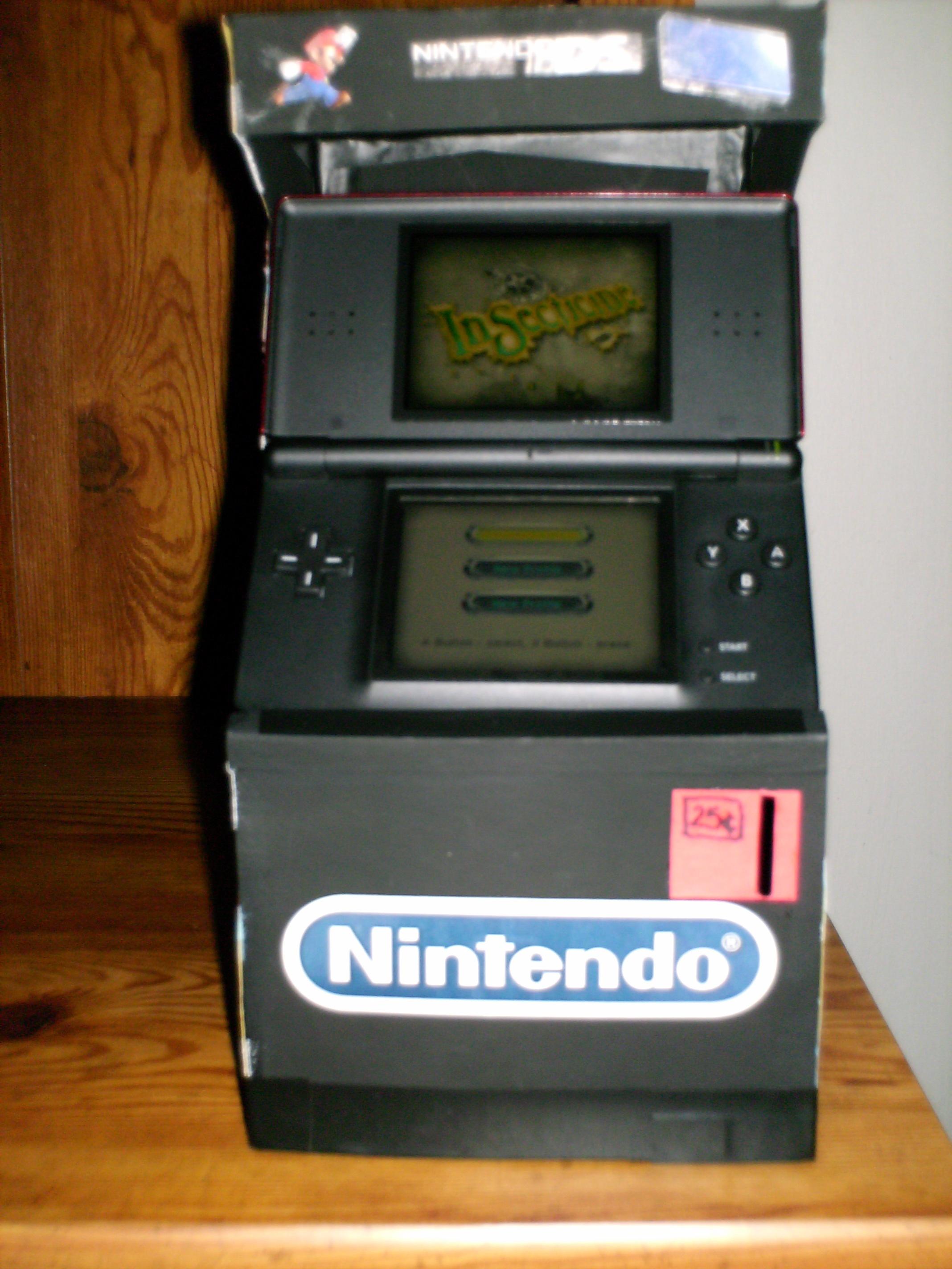 Nintendo DS Lite Arcade Stand