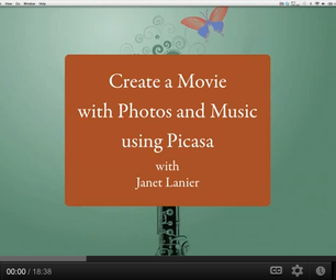 Create a Movie with Photos and Music Using Picasa