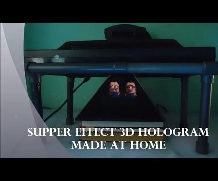 How to make a 3D hologram at home
