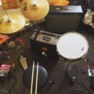 Build a Suitcase Drum Set