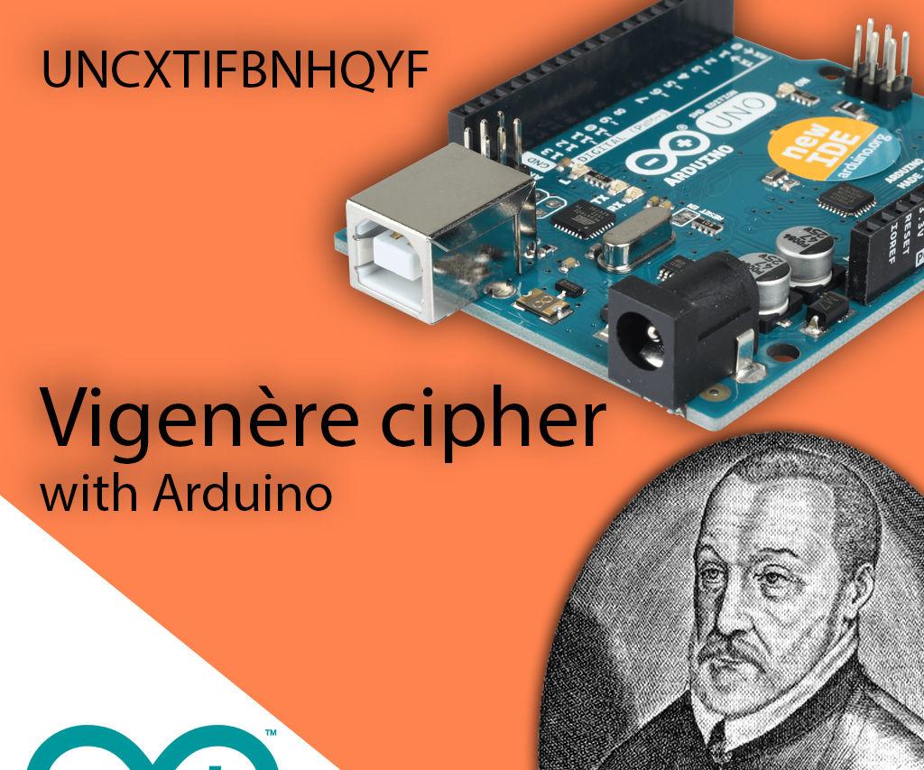 Vigenère Cipher With Arduino