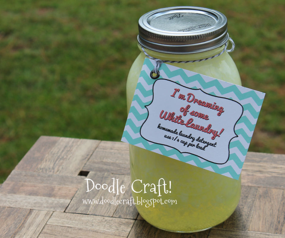 Homemade Laundry Detergent and Gift Idea!