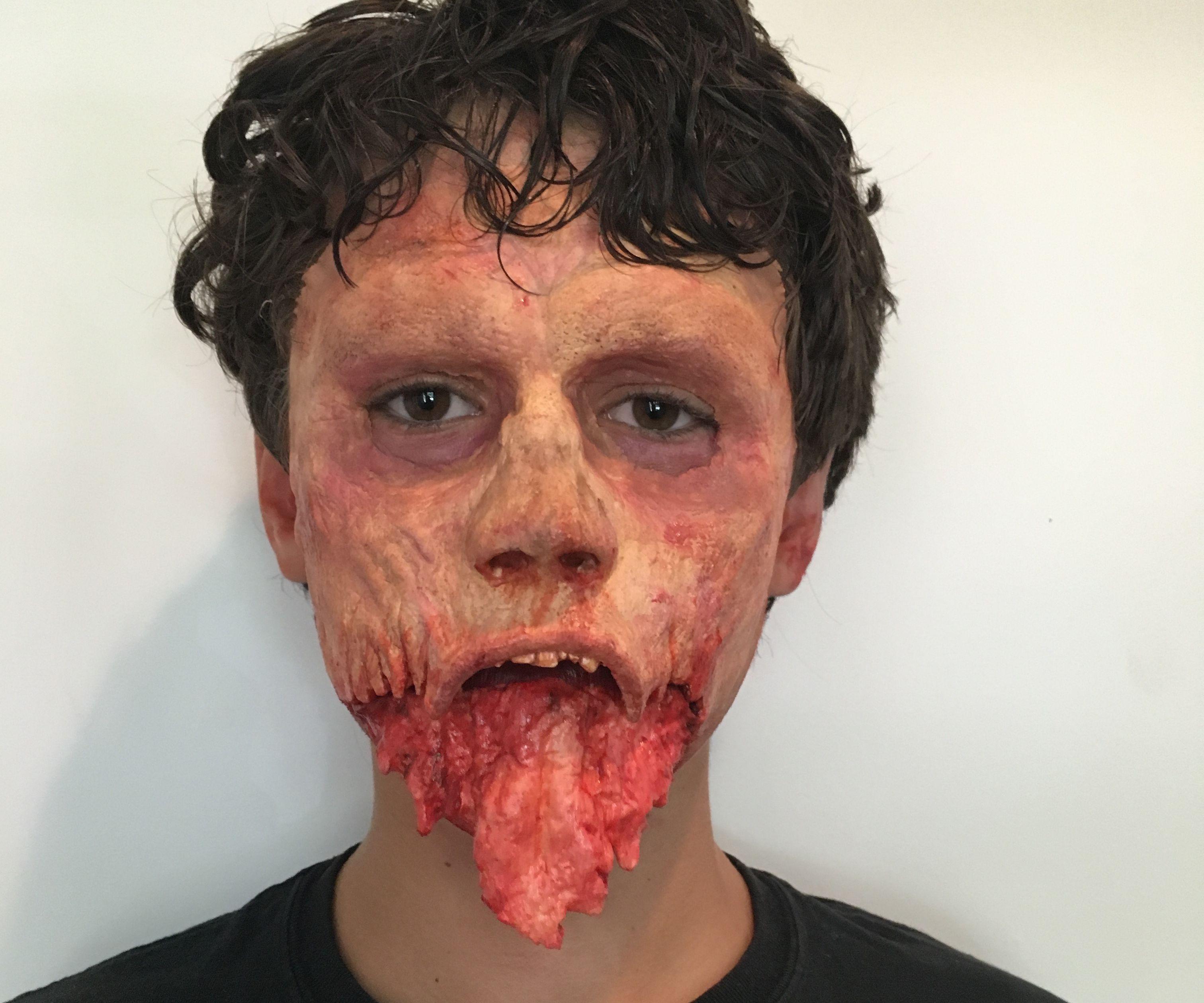 Making Jawless Zombie Prosthetics