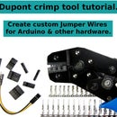 Dupont Crimp Tool Tutorial