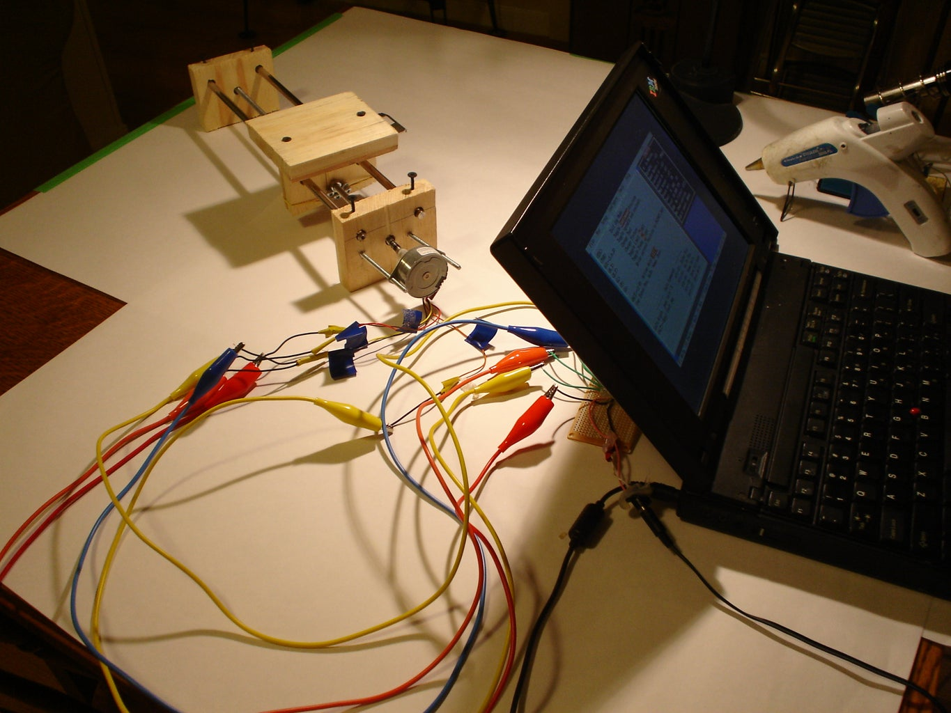 Conect and Test Motor