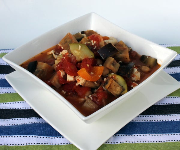 Healthy and Hearty Ratatouille
