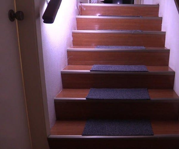 Motion Activated Automatic LED Stair Lighting With Arduino (Updated)