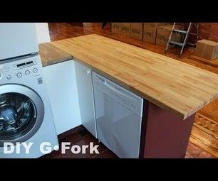 DIY Ikea Kitchen Island