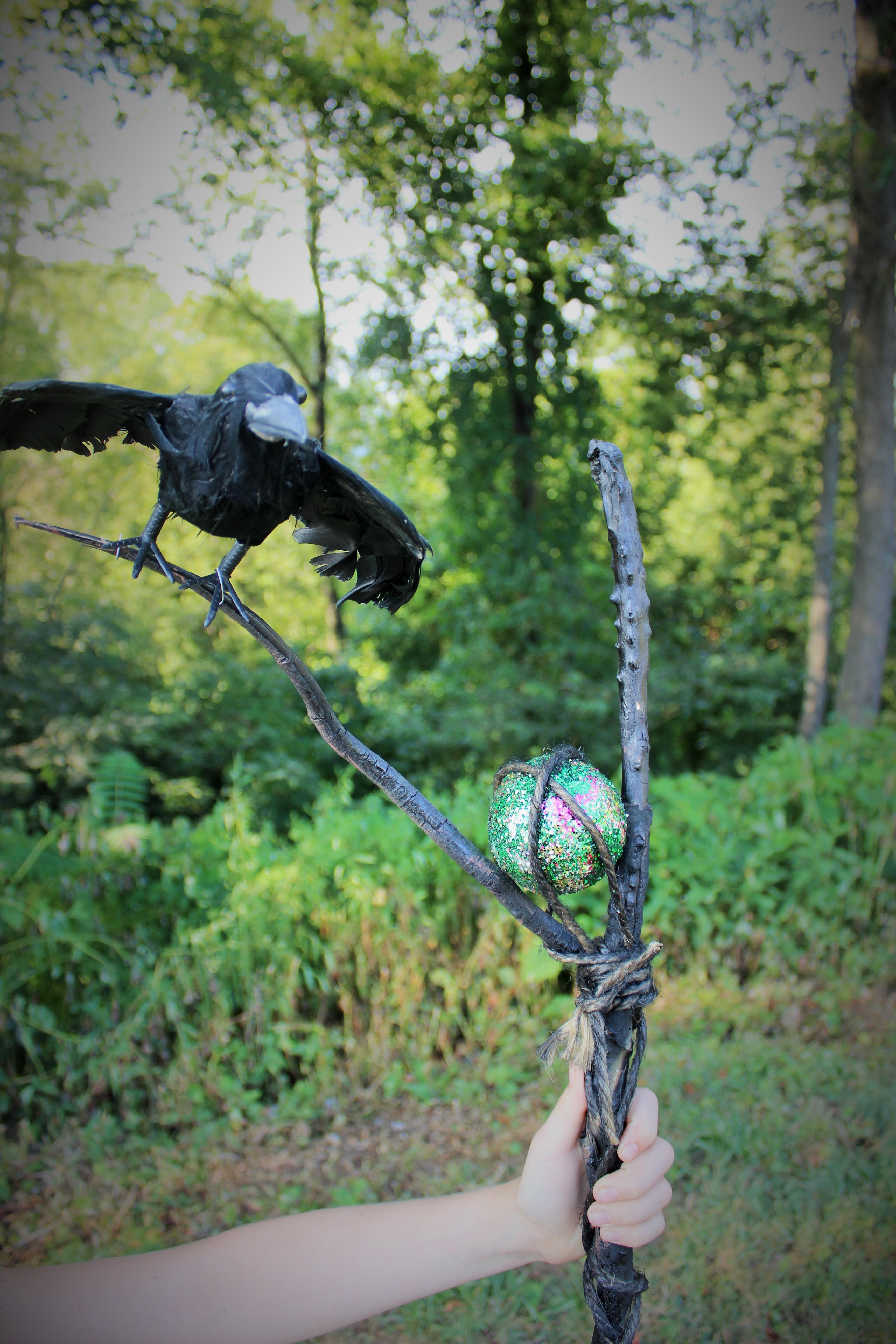 Maleficent Staff