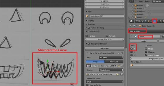 Modeling - Facial Features