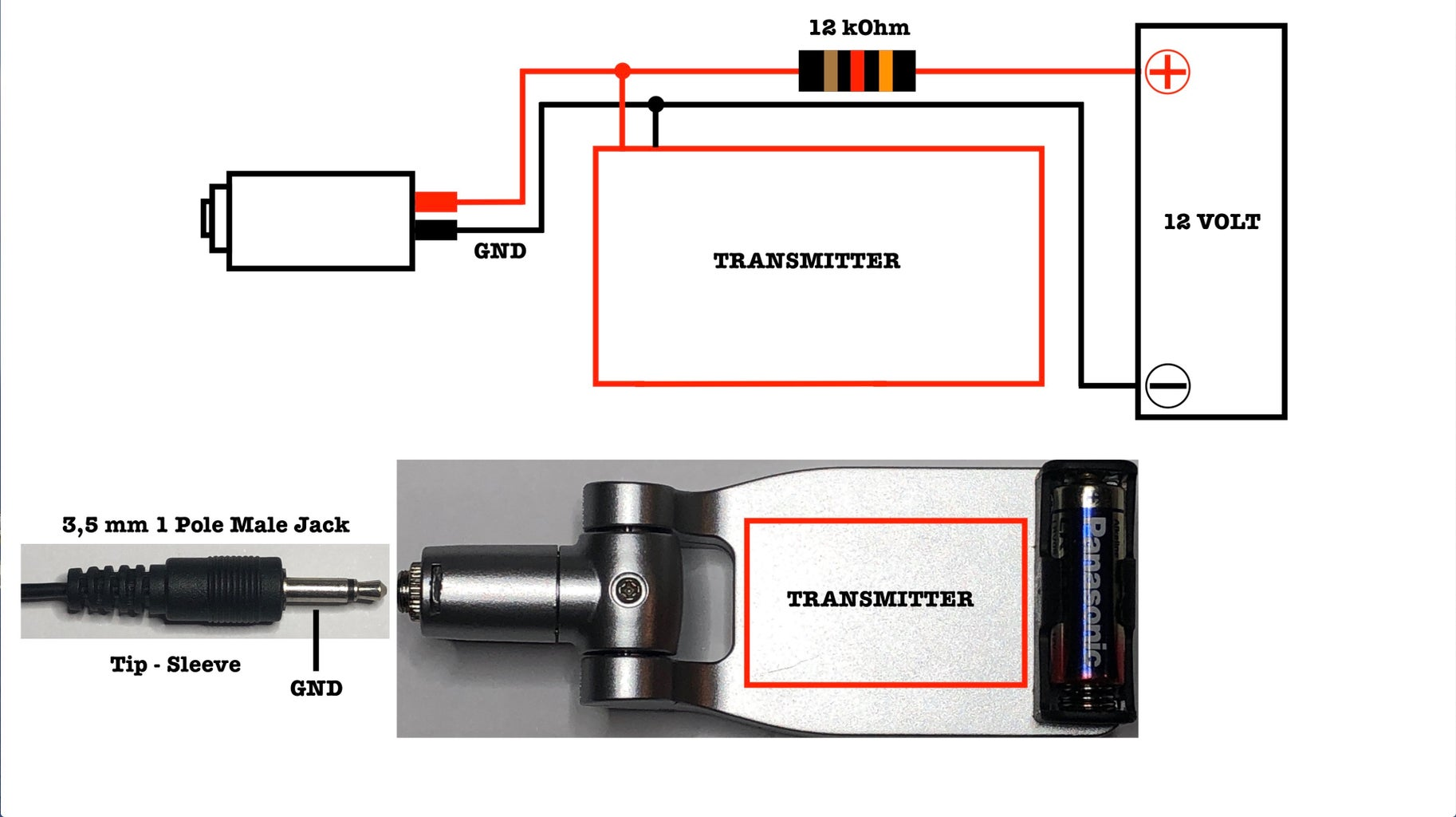 Transmitter Circuit and Components