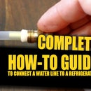 How to Connect a Water Line to Your Refrigerator