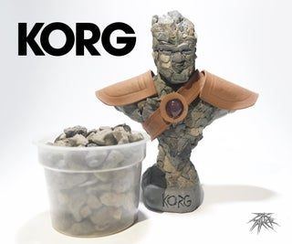Hello My Name Is KORG and I'm Made Out of ROCKS