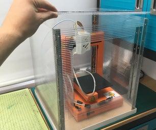 平面包装3D打印机外壳
