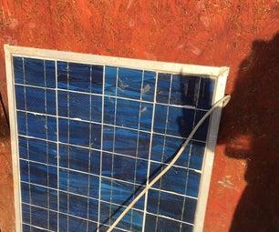DiY Solar Panel & Measure Datas
