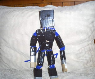 Duct Tape Cardboard Man!!!!