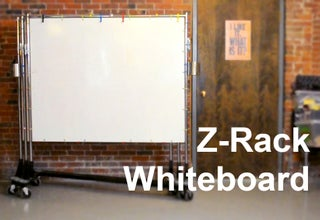 Build A Z Rack Whiteboard 4 Steps Instructables
