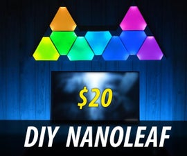 DIY NANOLEAF - No 3D Printer