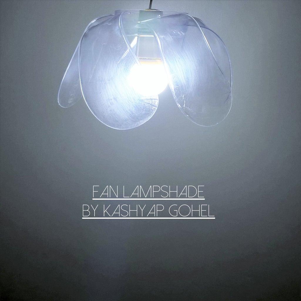 Fan Blade Lampshade