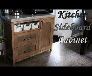 DIY Kitchen Sideboard Cabinet