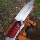 Upcycled Bowie Knife