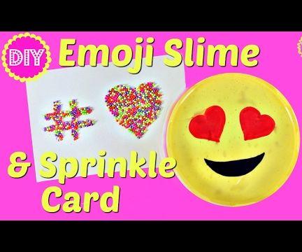 EMOJI SLIME & SPRINKLES CARD