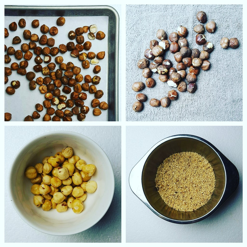 Prepare Hazelnuts