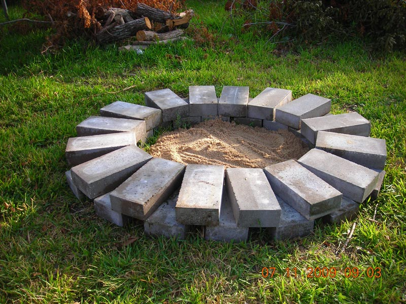 Build a Fire Ring or Pit