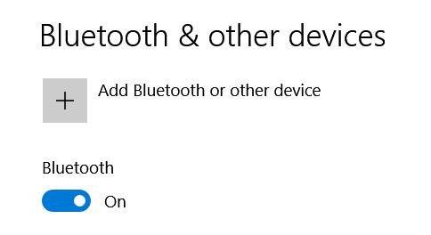 Connecting Via Bluetooth