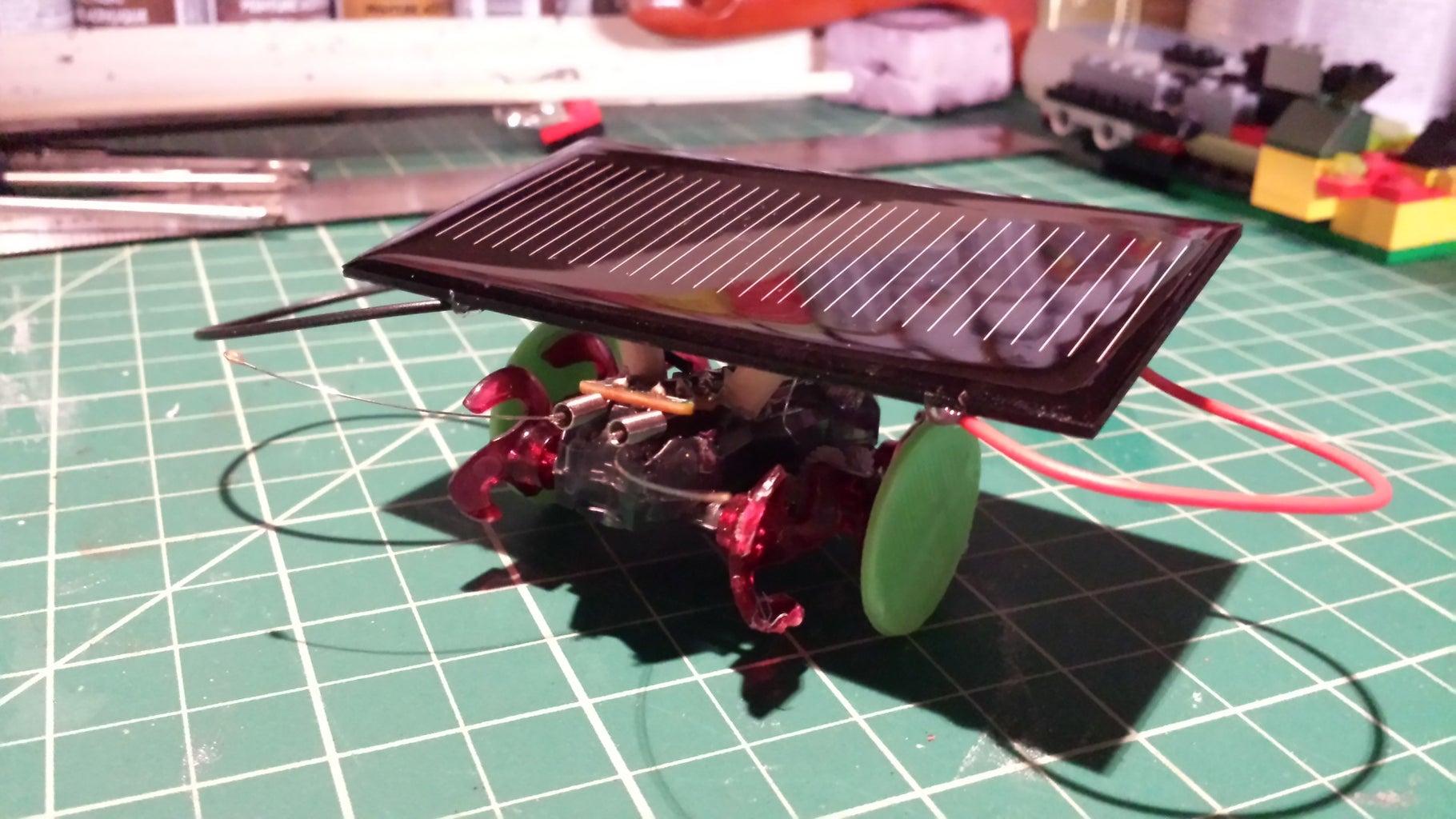 Mini Toy Solar Car