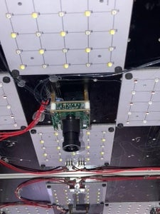 Camera and LED Panels Mounting