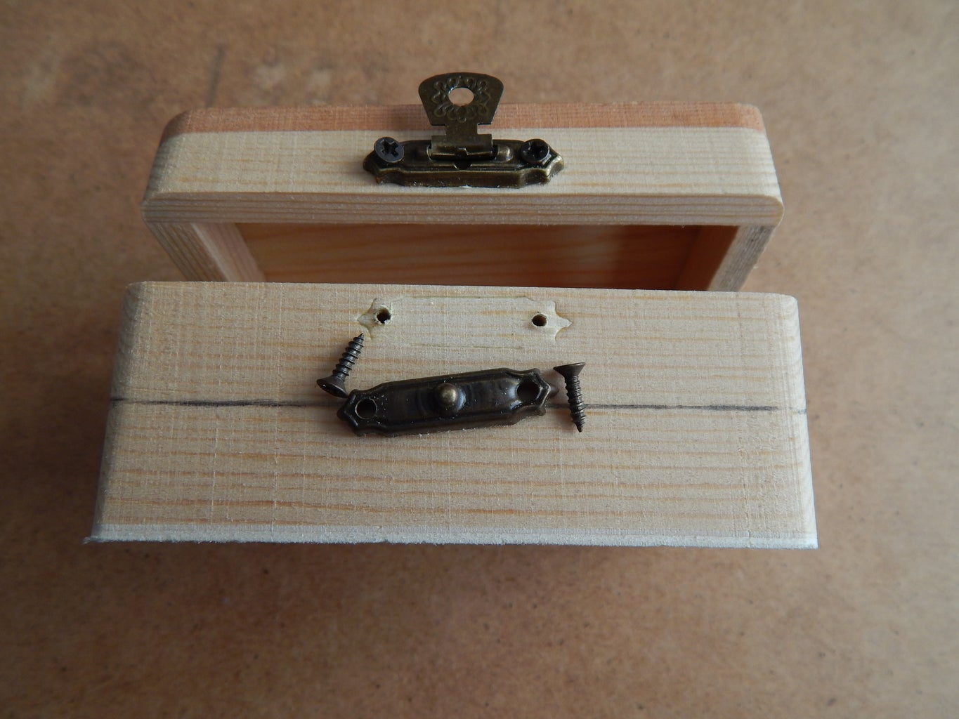 Removing Hinges and Latch