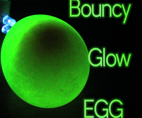 How to Make Egg Glow in the Dark
