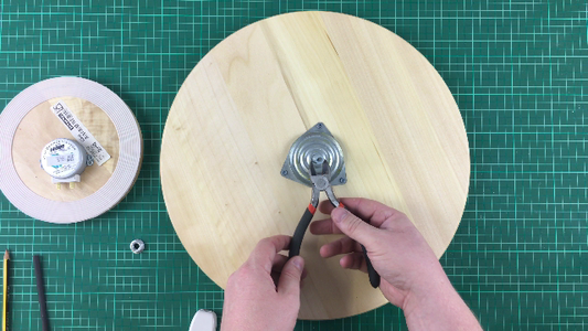 Reassemble the Lazy Susan