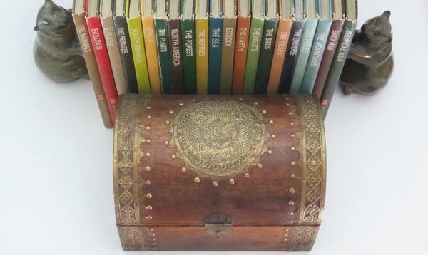 Multi-Book Secret Storage Compartment