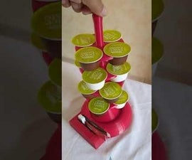 Turn an Old Hard Drive Into a Rotating Dolce Gusto Capsule Holder