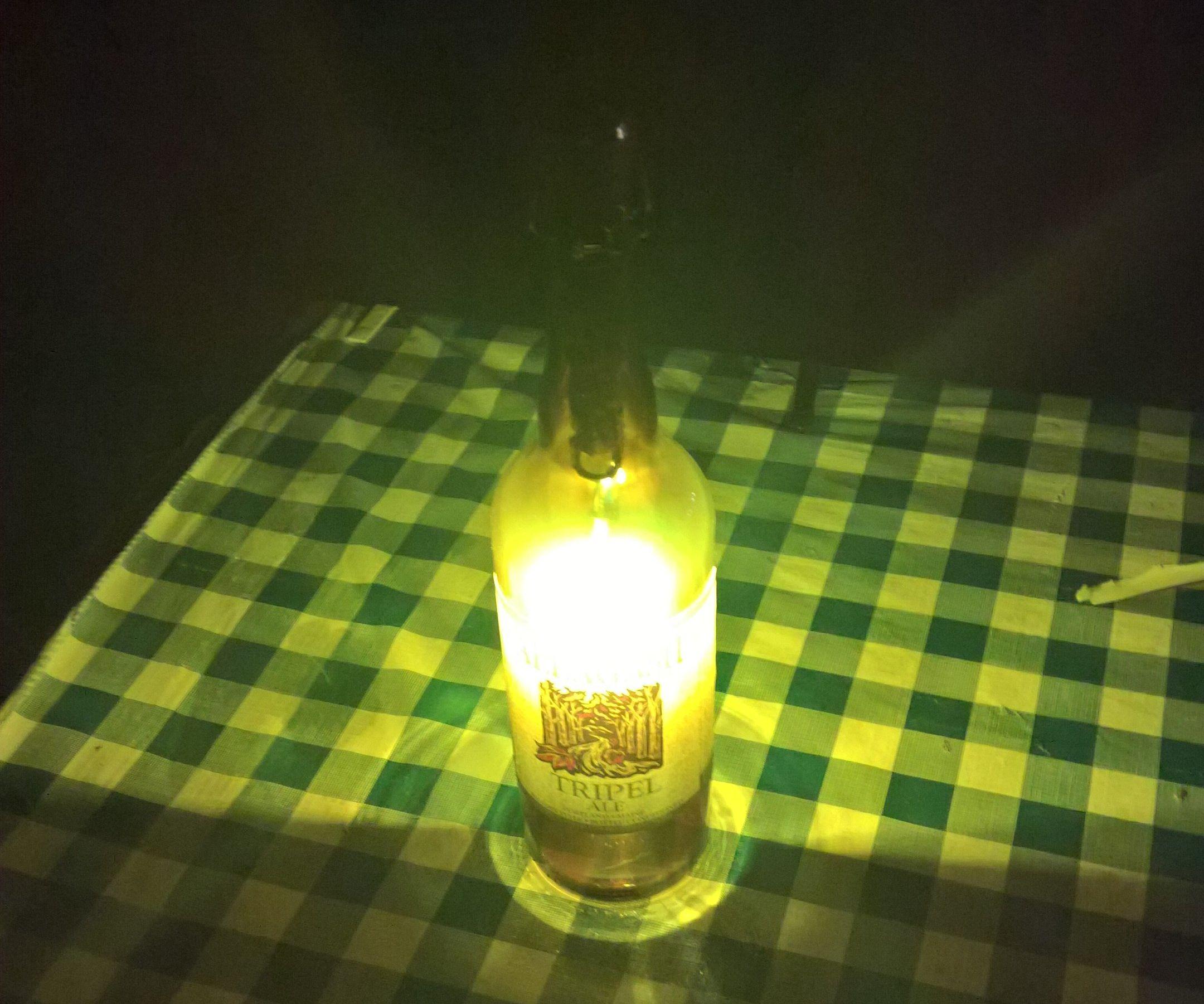Portable Beer Bottle Light