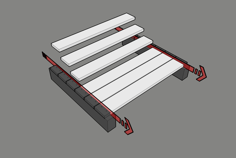 Prepare the Pallet Planks