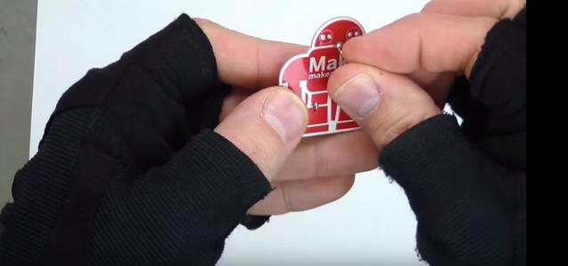 Install the Lapel Pin
