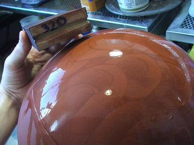 Molding the Helmet (1 of 2)
