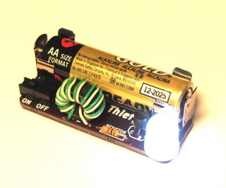 Easy Joule Thief Soldering Project