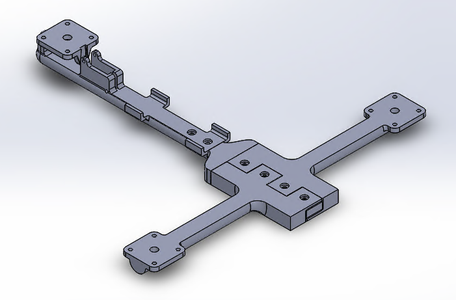Assembling the Tricopter Frame