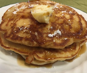Old-Fashioned Snow Pancakes (and a Sourdough Snow Pancakes Variation)