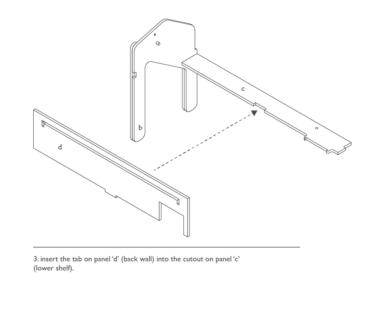 Assembly: Main Desk
