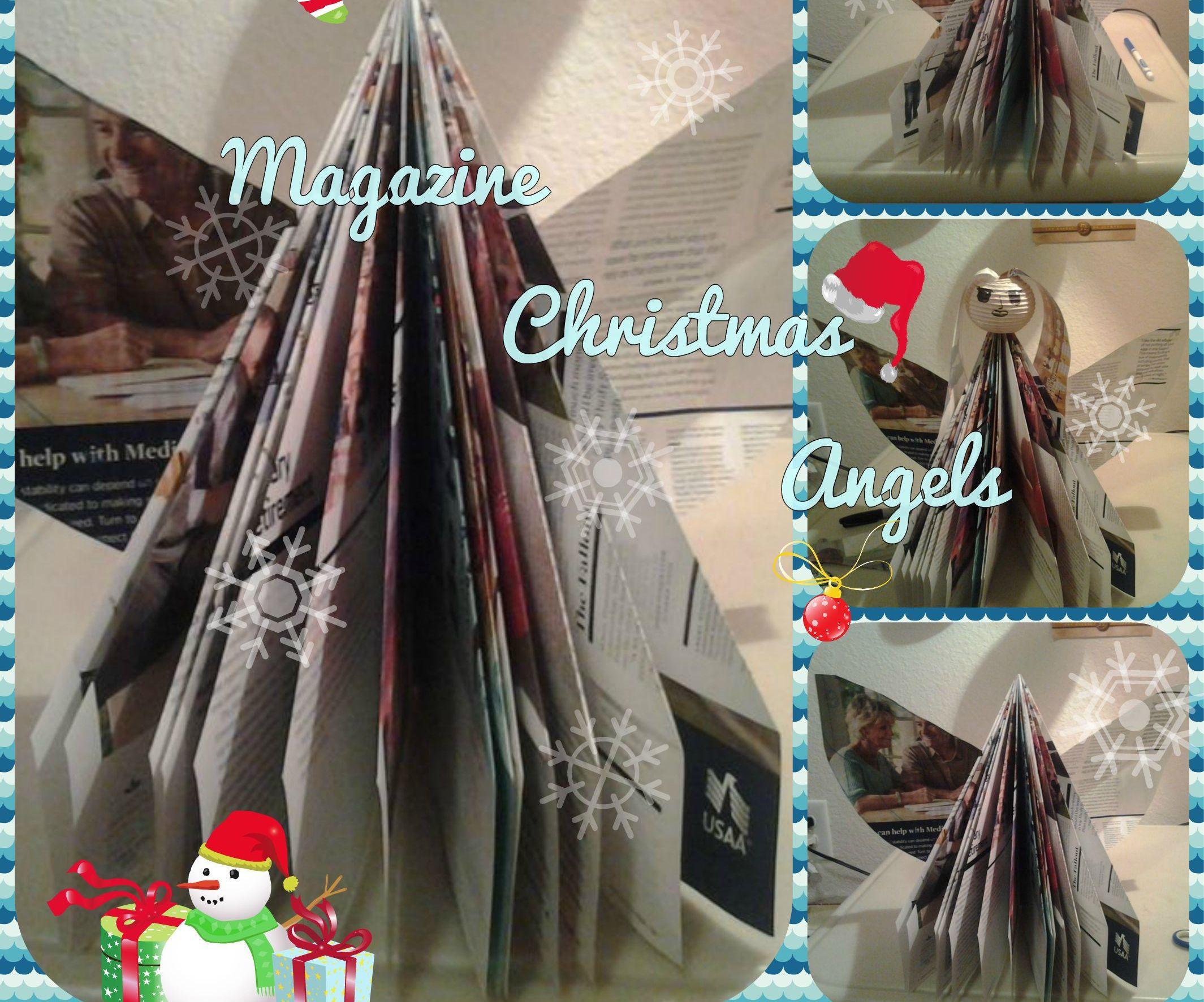 Magazine Christmas Angel