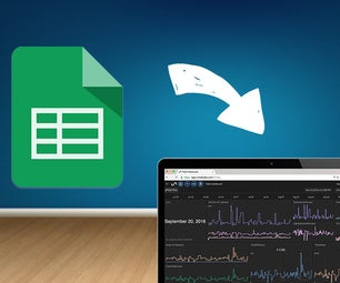 Update a Real Time Dashboard With Google Sheets
