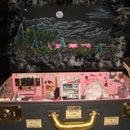 Night Shift at the Diamond Mine- N Scale Train Diorama in a Suitcase