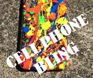 Bling Splat Cell Phone Case