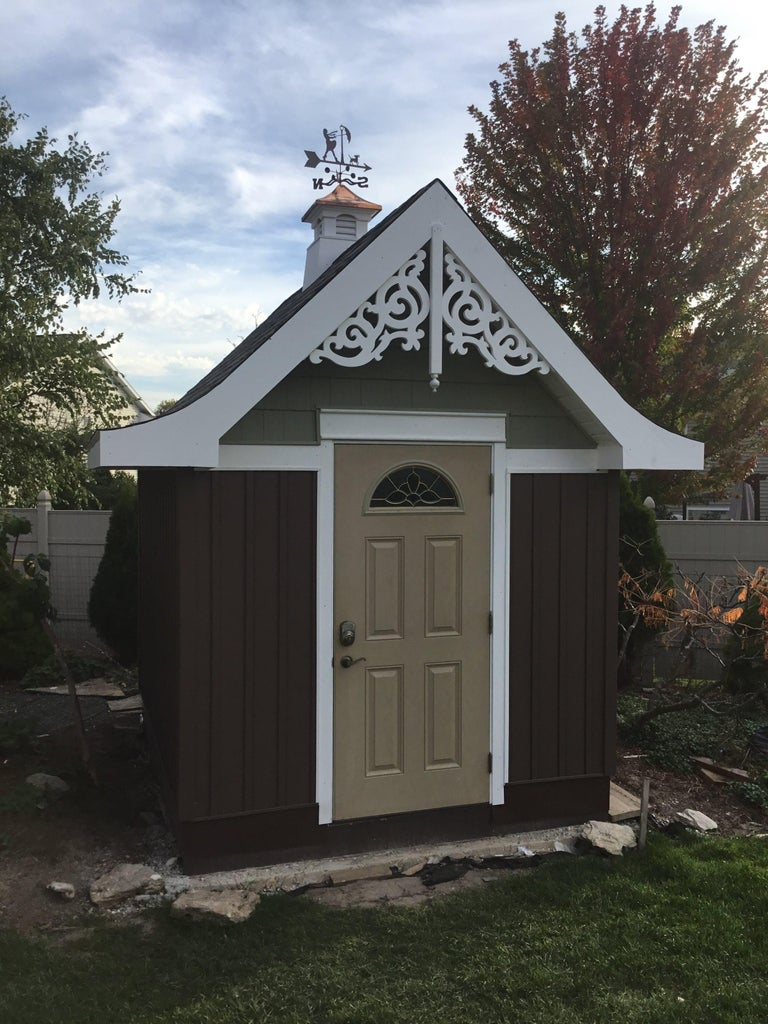 Country Garden Shed