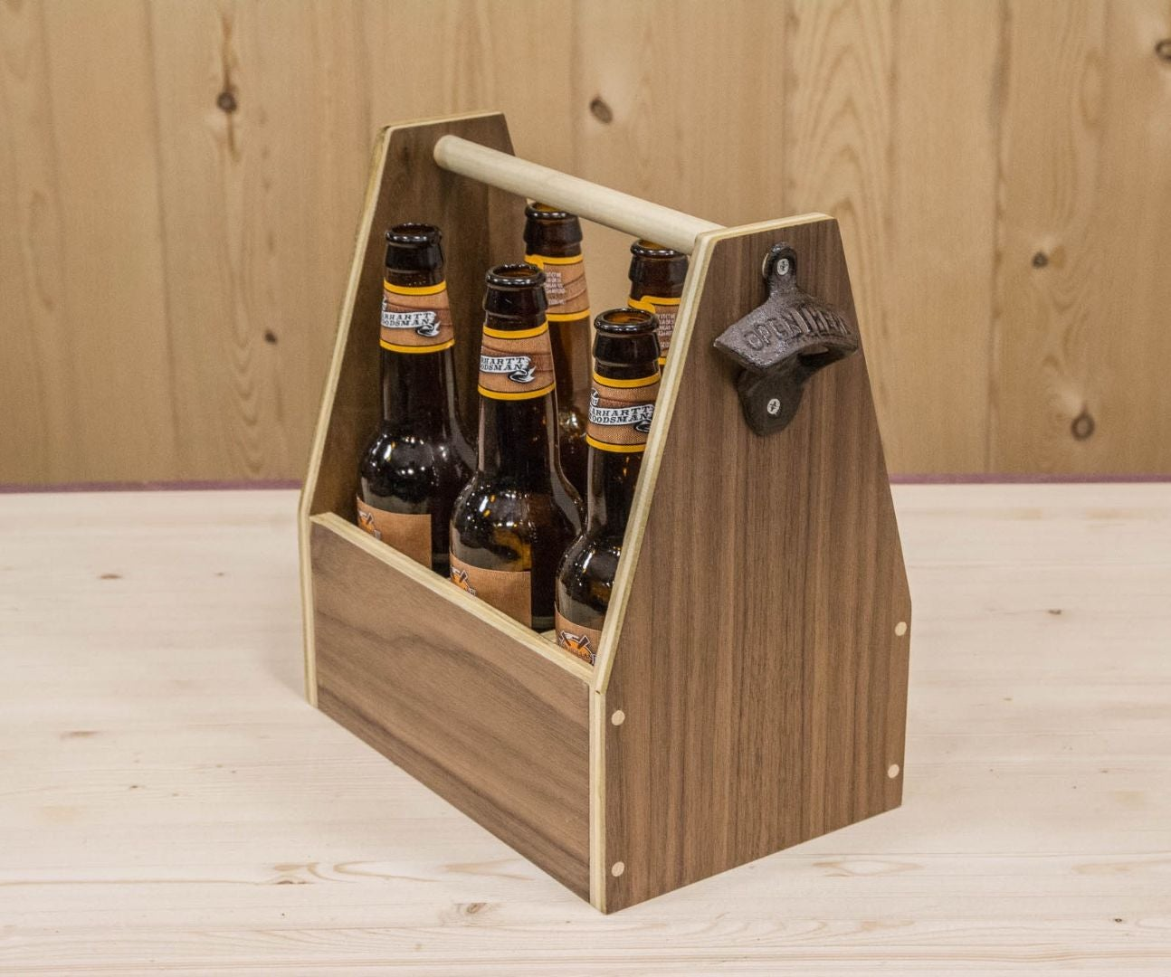 How To Make A Beer Tote 9 Steps With Pictures Instructables